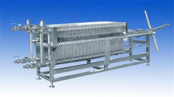 板框压滤机为环保助力