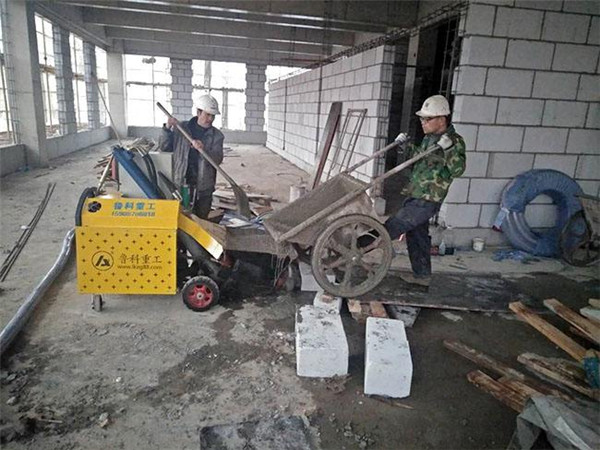 二次结构泵有效提升建筑施工进度