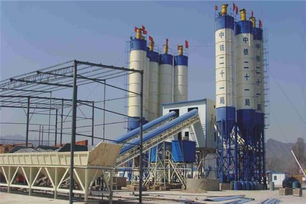 混凝土搅拌站在城镇化发展中的重要作用