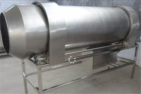 滚筒拌料机干净卫生结构合理