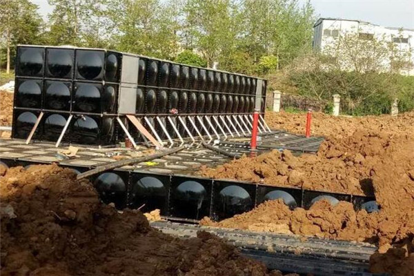地埋式箱泵在消防给水系统中的应用
